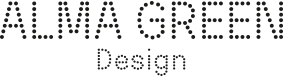 alma green design footer logo